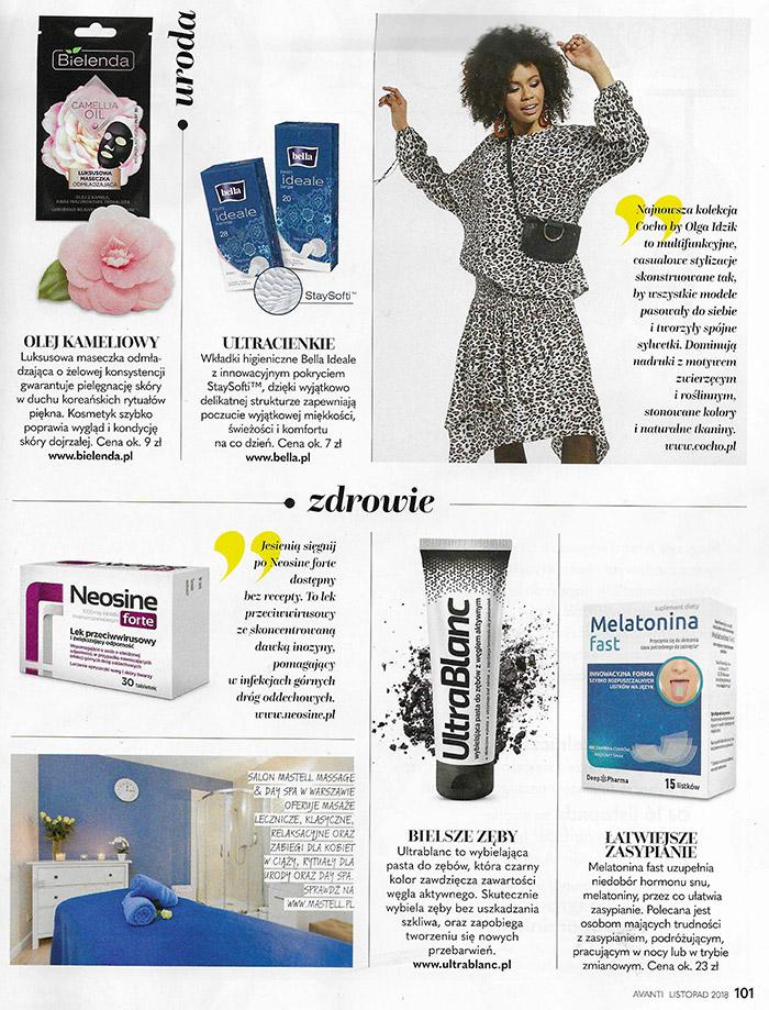 Avanti - Mastell massage & day spa – oferta